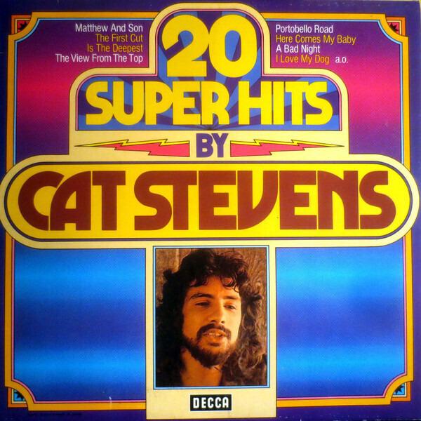 cat stevens 20 super hits by cat stevens