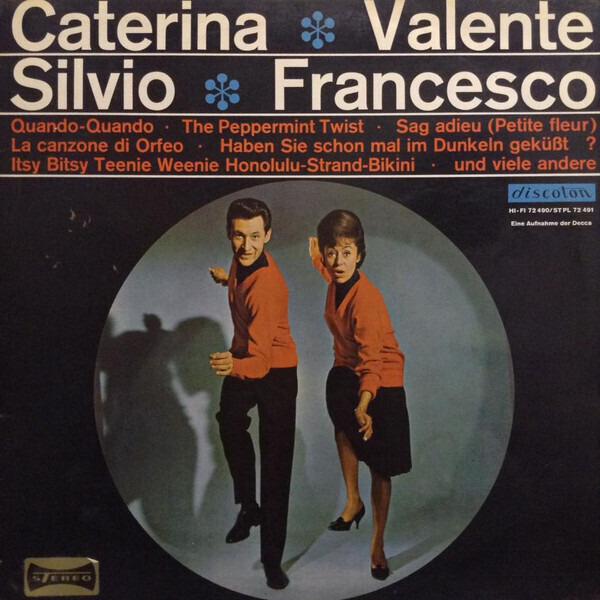 #<Artist:0x00007f4e0da09c38> - Caterina Valente - Silvio Francesco