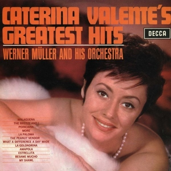 #<Artist:0x00007fd9018a0868> - Caterina Valente's Greatest Hits