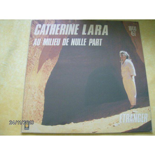 CATHERINE LARA - Au Milieu De Nulle Part - Maxi x 1