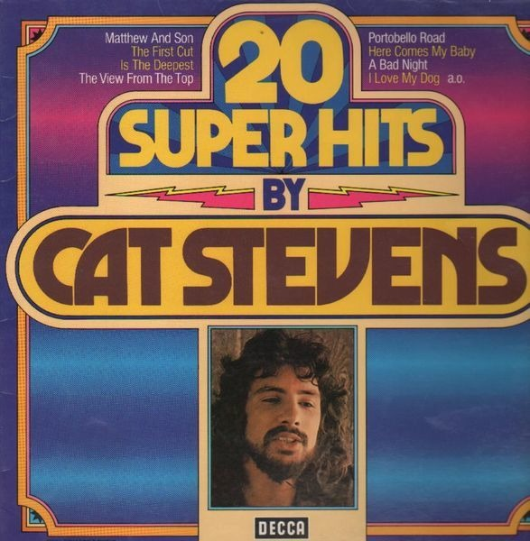 Cat Stevens 20 Super Hits By Cat Stevens