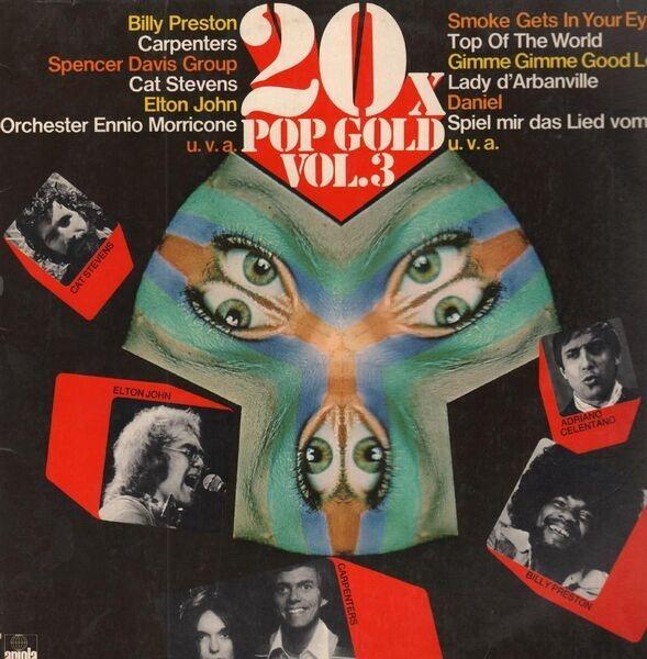 Cat Stevens, Elton John 20 x Pop Gold Vol.3