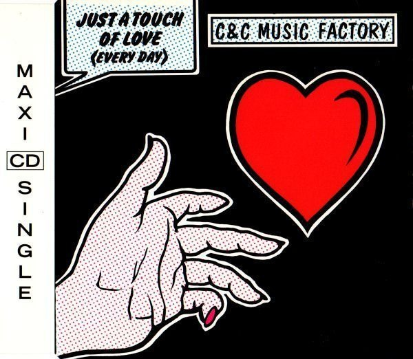 C & C MUSIC FACTORY - Just A Touch Of Love (Everyday) - CD single