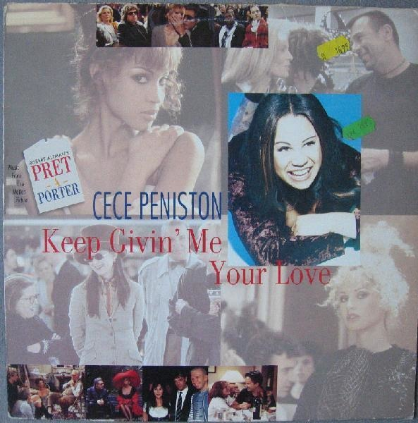 CECE PENISTON - Keep Givin' Me Your Love - 12 inch x 1