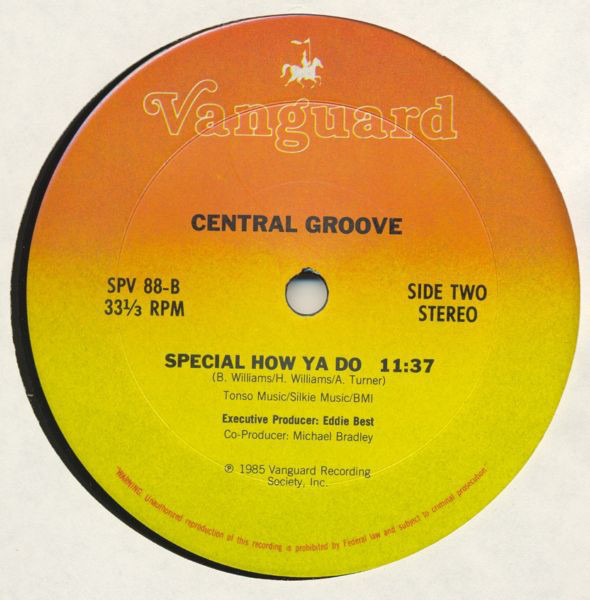 Central Groove Special How Ya Do (STILL SEALED)
