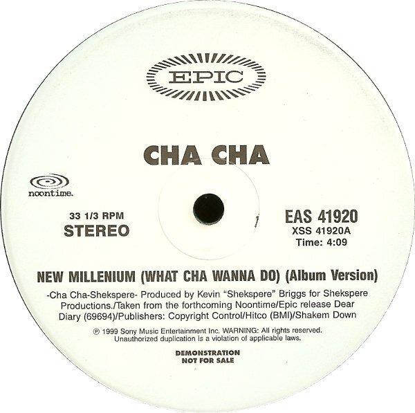 #<Artist:0x007fa8b3573380> - New Millenium (What Cha Wanna Do)
