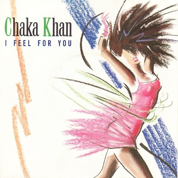 Chaka Khan I Feel For You (SILVER INJECTION-MOULDED LABELS)