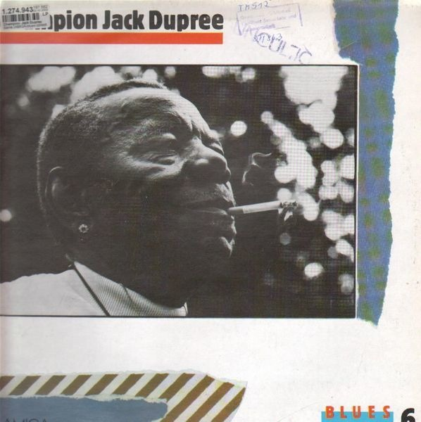 champion jack dupree blues collection vol. 6
