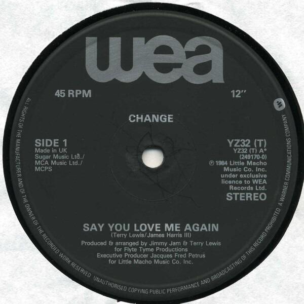 #<Artist:0x00007f41652409c0> - Say You Love Me Again / Change Medley