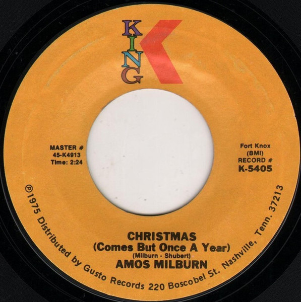 #<Artist:0x007efd2c278280> - Please Come Home For Christmas / Christmas (Comes But Once A Year)