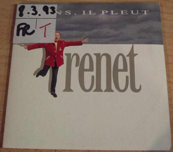 CHARLES TRENET - Tiens, Il Pleut/J' Aime La Pub (CARD SLEEVE) - CD single