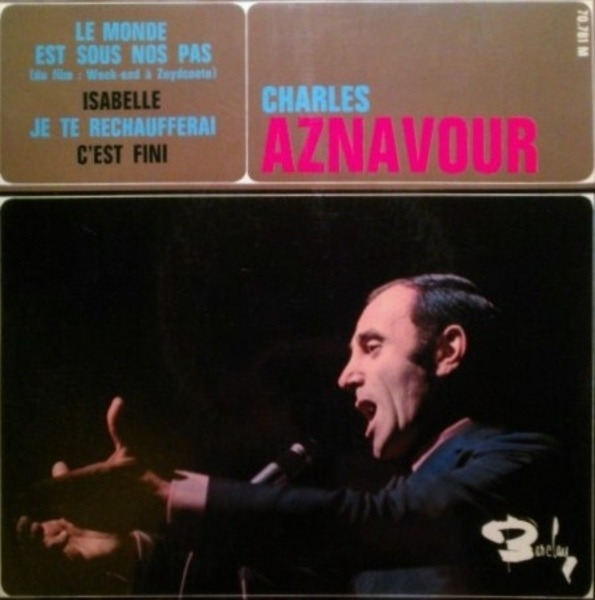 charles aznavour le monde est sous nos pas (du film : week-end a zuydcoote)