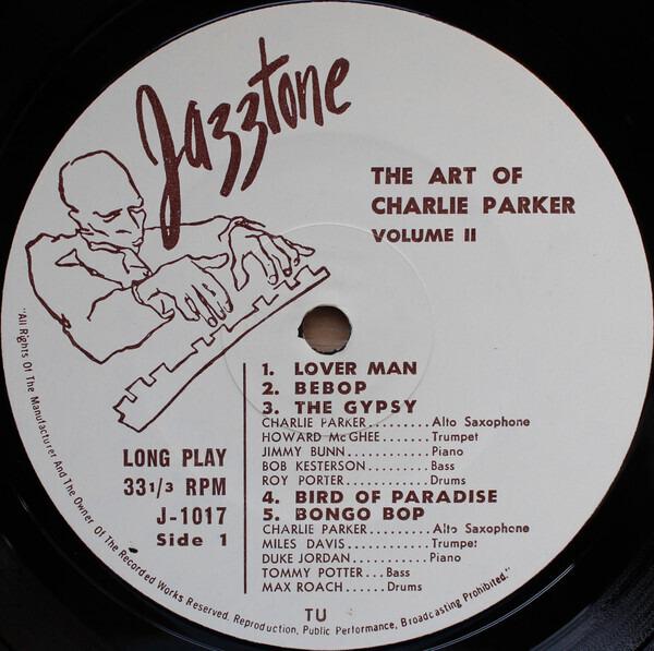 Charlie Parker The Art Of Charlie Parker - Vol. 2: The Fabulous Bird