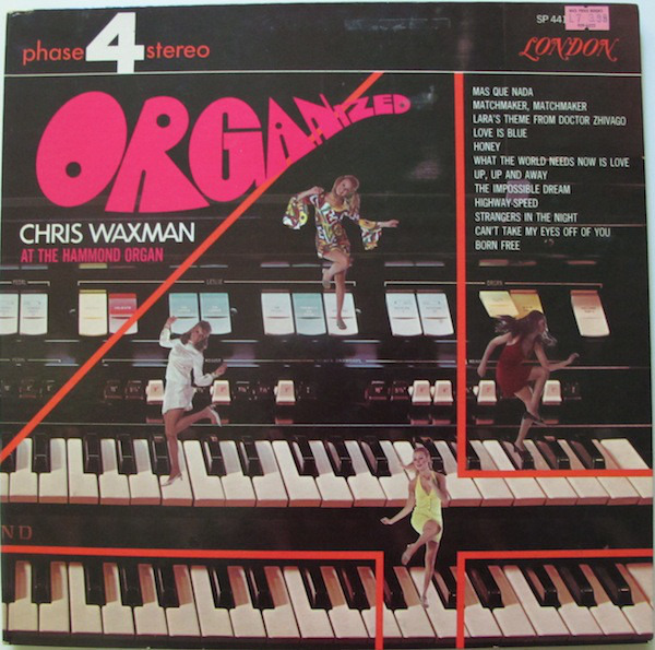 CHRIS WAXMAN - Organized (PROMO) - 33T