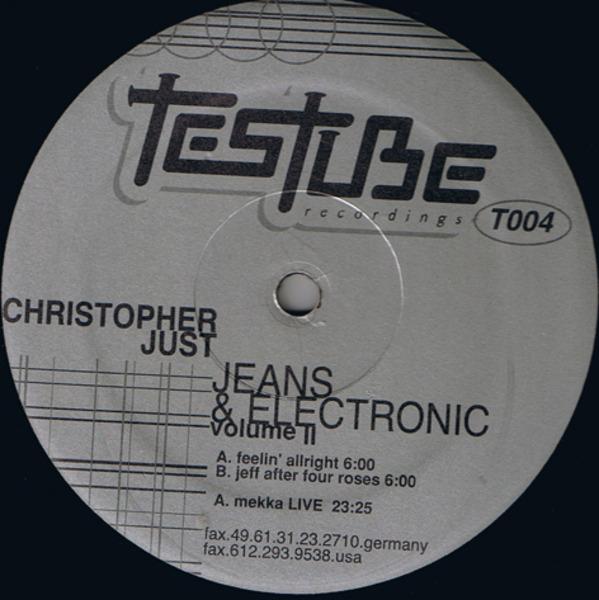 #<Artist:0x00007f4e0e1887c0> - Jeans & Electronic Volume II