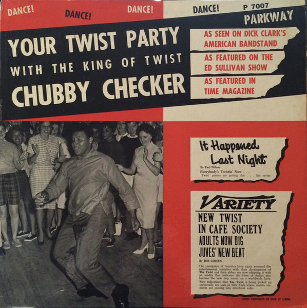 Commit error. chubby checker your twist party