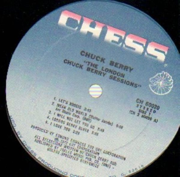 Chuck Berry The London Chuck Berry Sessions (BLUE CHESS LABELS)