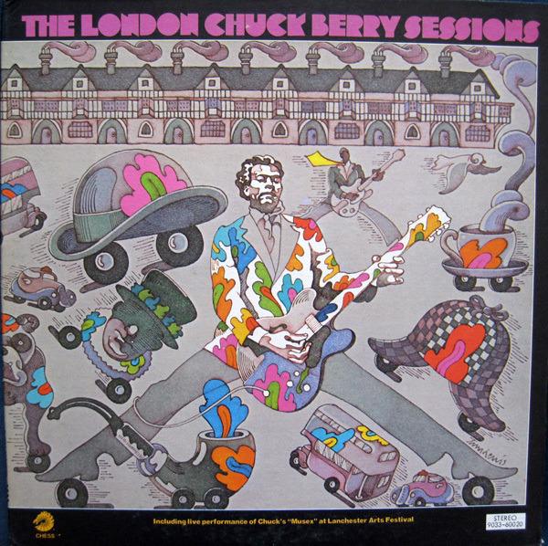 #<Artist:0x00007fd6d8341f50> - The London Chuck Berry Sessions