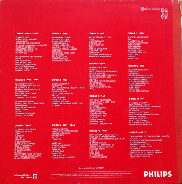 Claude François 10 Ans De Chansons - Intégral de 1962 à 1972 (HARDCOVER BOX + BOOKLET)