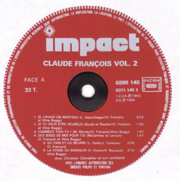 Claude François Volume 2