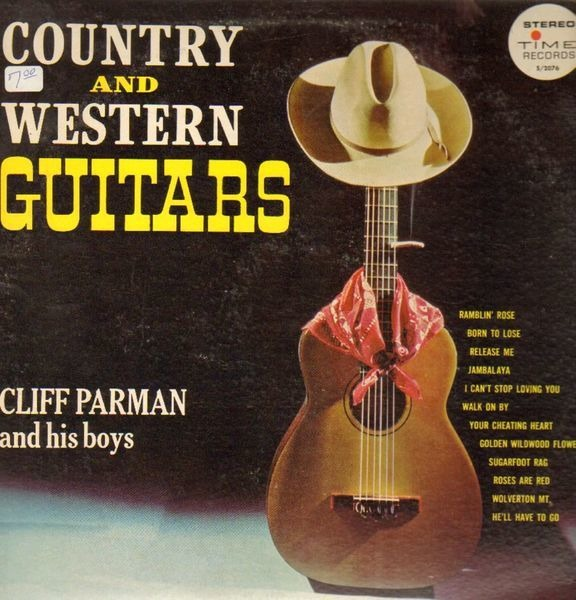 country and western guitars cliff parman lp recordsale