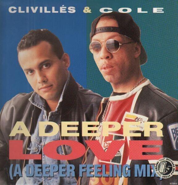 CLIVILLÉS & COLE - A Deeper Love - 12 inch x 1