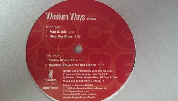 COCO AND THE BEAN - Western Ways - LP