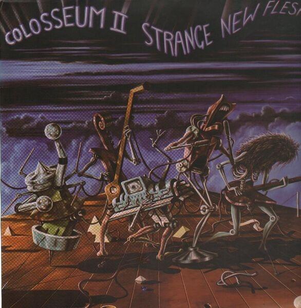 COLOSSEUM II - Strange New Flesh - LP