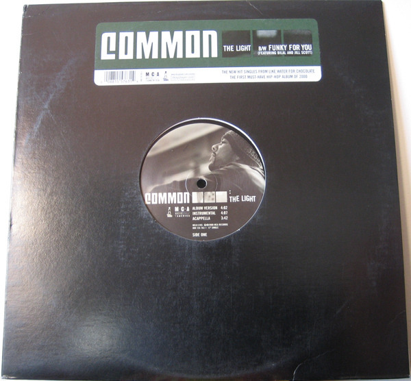 Common - The Light / Funky For You (still Sealed)