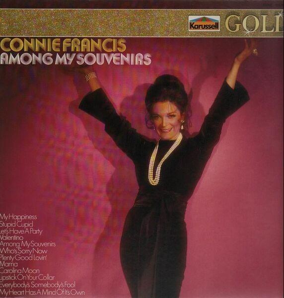 connie francis souvenirs cd