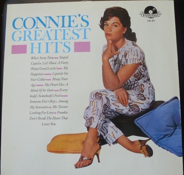 #<Artist:0x00007f8136f8d8b0> - Connie's Greatest Hits