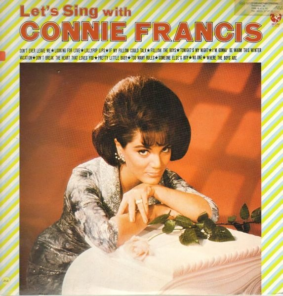 #<Artist:0x007f5d5b277490> - Let's Sing With Connie Francis