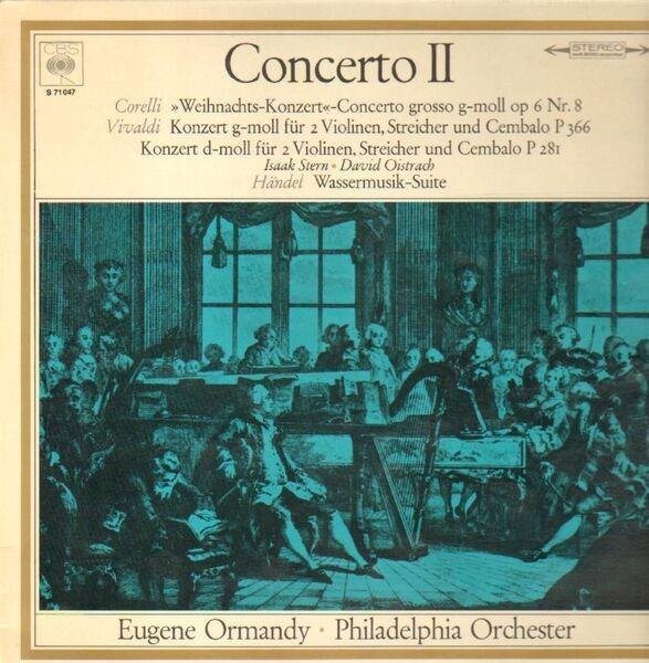 #<Artist:0x00007fce75d14138> - Concerto II (Eugene Ormandy)