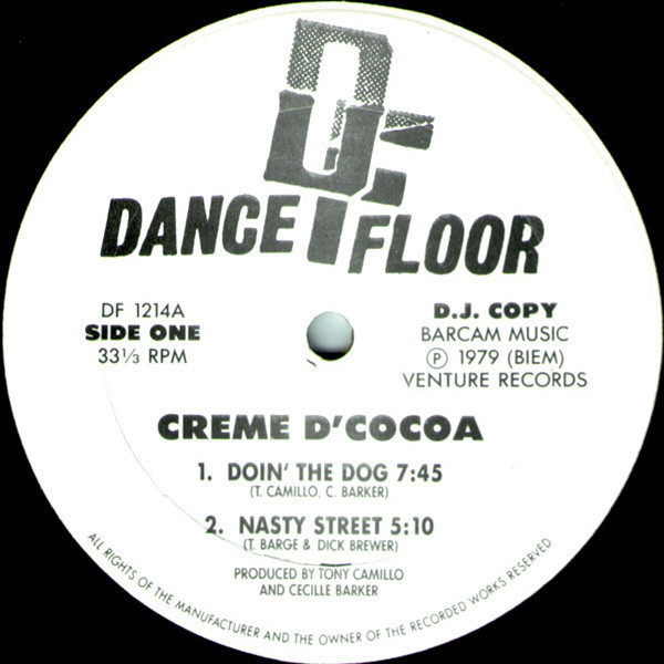 Creme D'Cocoa Doin' The Dog / Nasty Street / You've Lost That Lovin' Feelin / Gimme Your Love