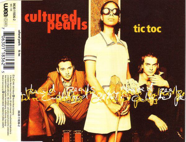 CULTURED PEARLS - Tic Toc - CD Maxi