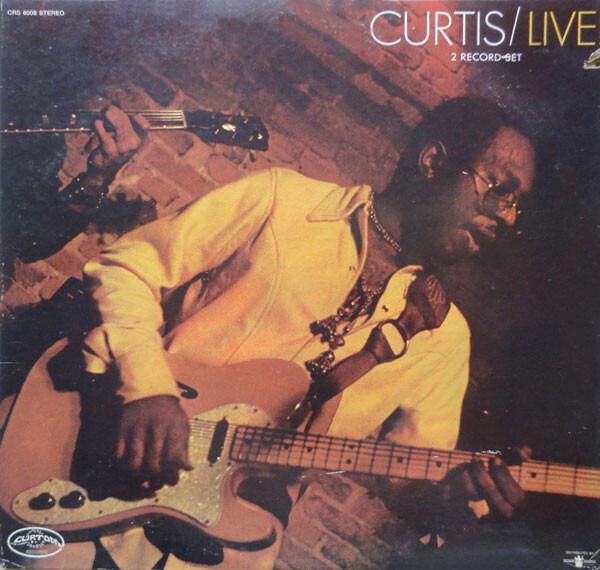 #<Artist:0x00007f4de1c24cb0> - Curtis / Live!