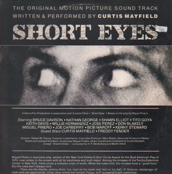 #<Artist:0x00007fd8e30b1fd0> - Short Eyes - The Original Picture Soundtrack