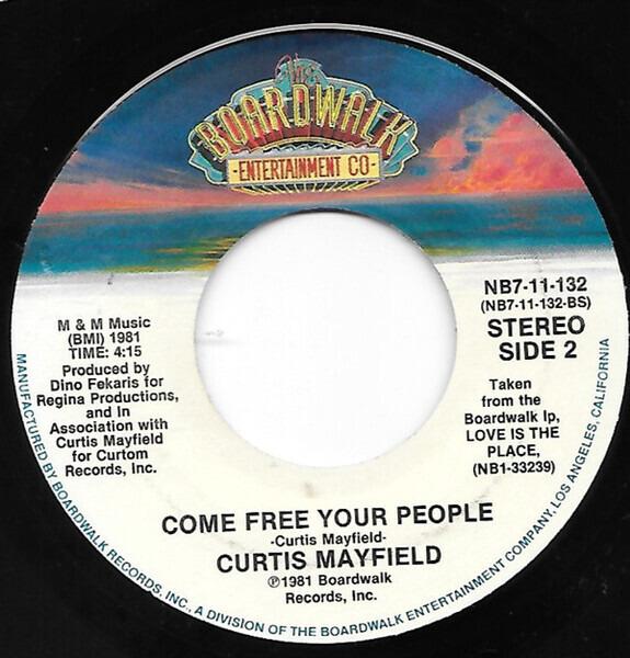 Curtis Mayfield Toot An'Toot An'Toot