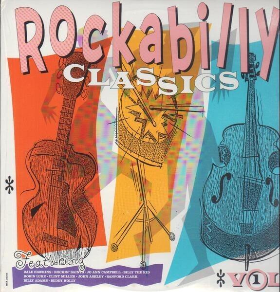 #<Artist:0x00007fd8aacae1f0> - Rockabilly Classics Volume One