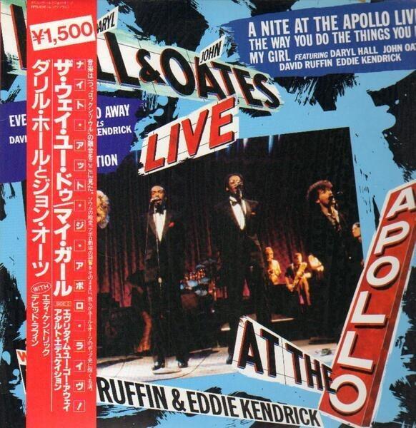Daryl Hall & John Oates Featuring David Ruffin & E A Nite At The Apollo Live! (OBI)