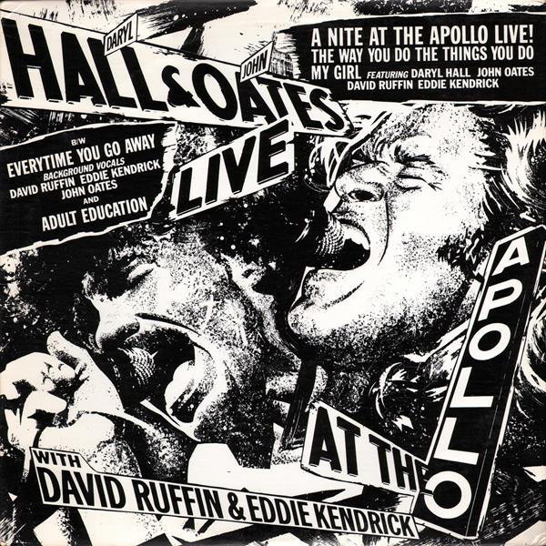 Daryl Hall & John Oates Featuring David Ruffin & E A Nite At The Apollo Live!