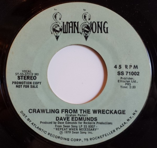 Dave Edmunds Crawling From The Wreckage