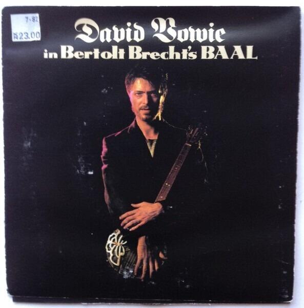 #<Artist:0x007f1eae27f8c0> - David Bowie In Bertolt Brecht's Baal