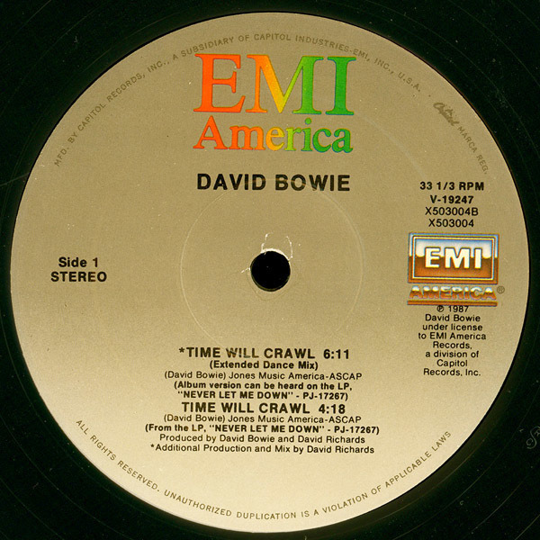 #<Artist:0x007efbdb01ce20> - Time Will Crawl (Extended Dance Mix)