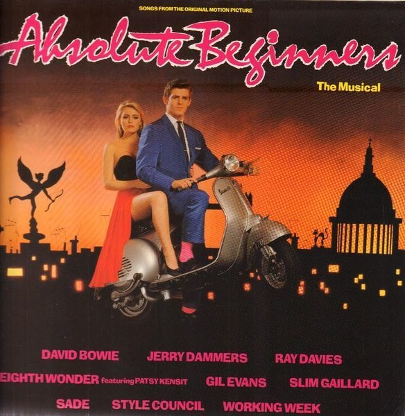 David Bowie, Sade, Patsy Kensit Absolute Beginners (Original Soundtrack)