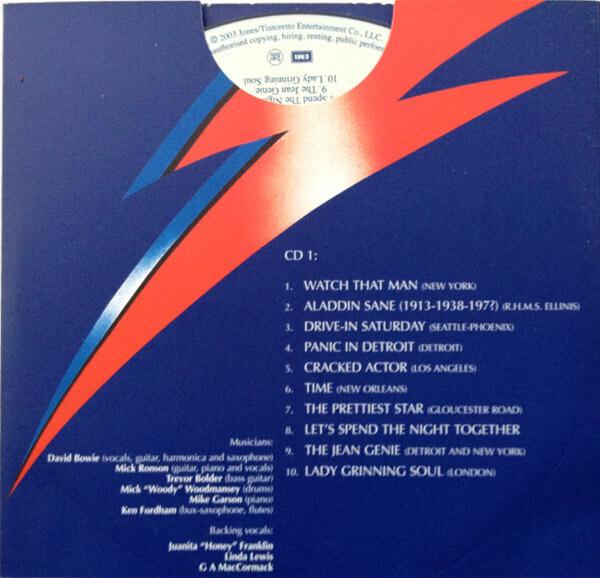 David Bowie Aladdin Sane (30TH ANNIVERSARY 2CD EDITION)