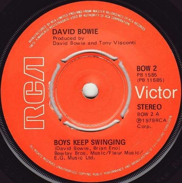 #<Artist:0x007f85400a6050> - Boys Keep Swinging