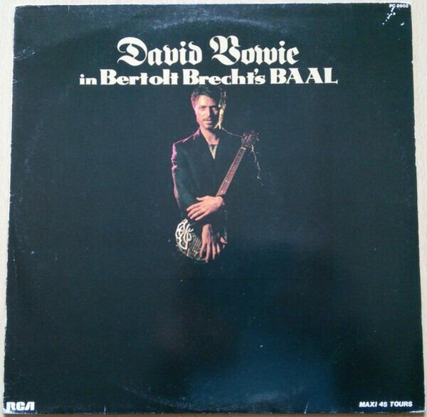 DAVID BOWIE - David Bowie In Bertolt Brecht's Baal - 12 inch x 1