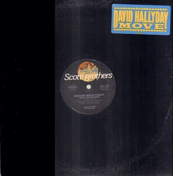DAVID HALLYDAY - Move - Maxi x 1