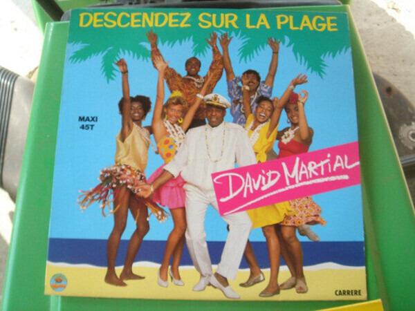 DAVID MARTIAL - Descendez Sur La Plage - 12 inch x 1